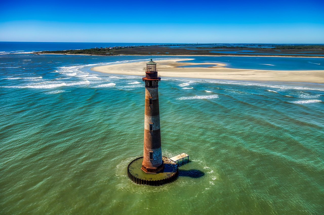Morris Island South Carolina lighthouse, for Children's Books About South Carolina