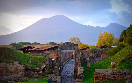 Mount Vesuvius, part of I Survived the Destruction of Pompeii