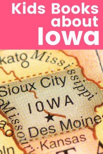 Chlidren's Books about Iowa - map of Des Moines and map of Sioux City