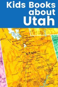 Children's Books about Utah - map of Utah and Salt Lake City