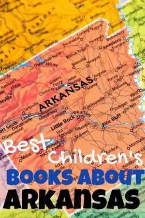 Arkansas children's books -  children's books about Arkansas - Arkansas books for kids - Arkansas state geography