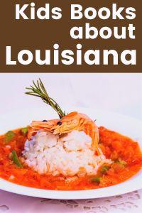 Lousiana children's books - Louisiana books about gumbo