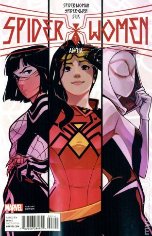Spider-Women Alpha #1B