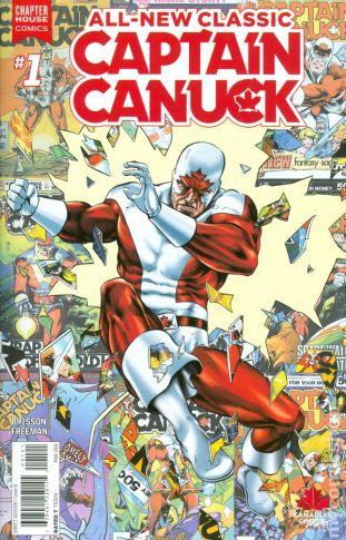 Classic Captain Canuck #1B
