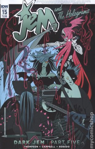 Jem and the Holograms #15A