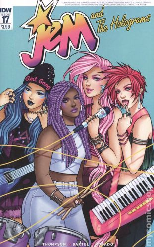 Jem and the Holograms #17A