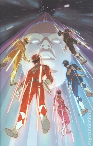 Mighty Morphin Power Rangers Annual #1B