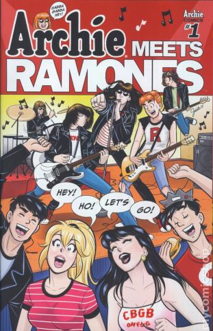 Archie Meets the Ramones #1A
