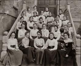 Women students 1900