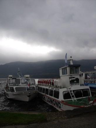 First view of Loch Lomond