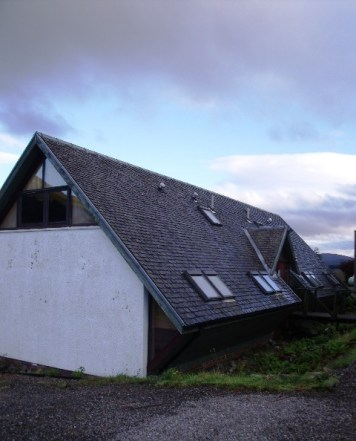 The bunkhouse at Bridge of Orchy Hotel