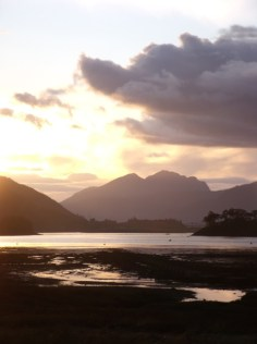 Sunset over Loch Leven