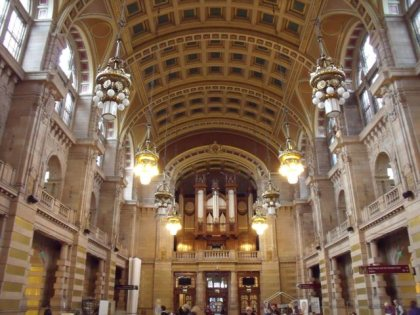 Foyer of the Kelvingrove Art Gallery & Museum