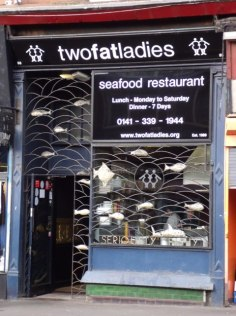 Two Fat Ladies fish restaurant