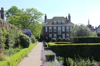 View of Fenton House from the garden