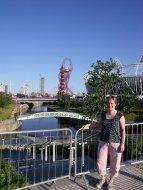 The Olympic Stadium and the Orbit