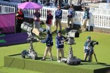 Camera crew at Lord's
