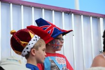 Young British supporters