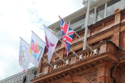 Flags at the Pavilion