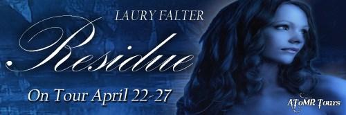 Residue Blog tour banner