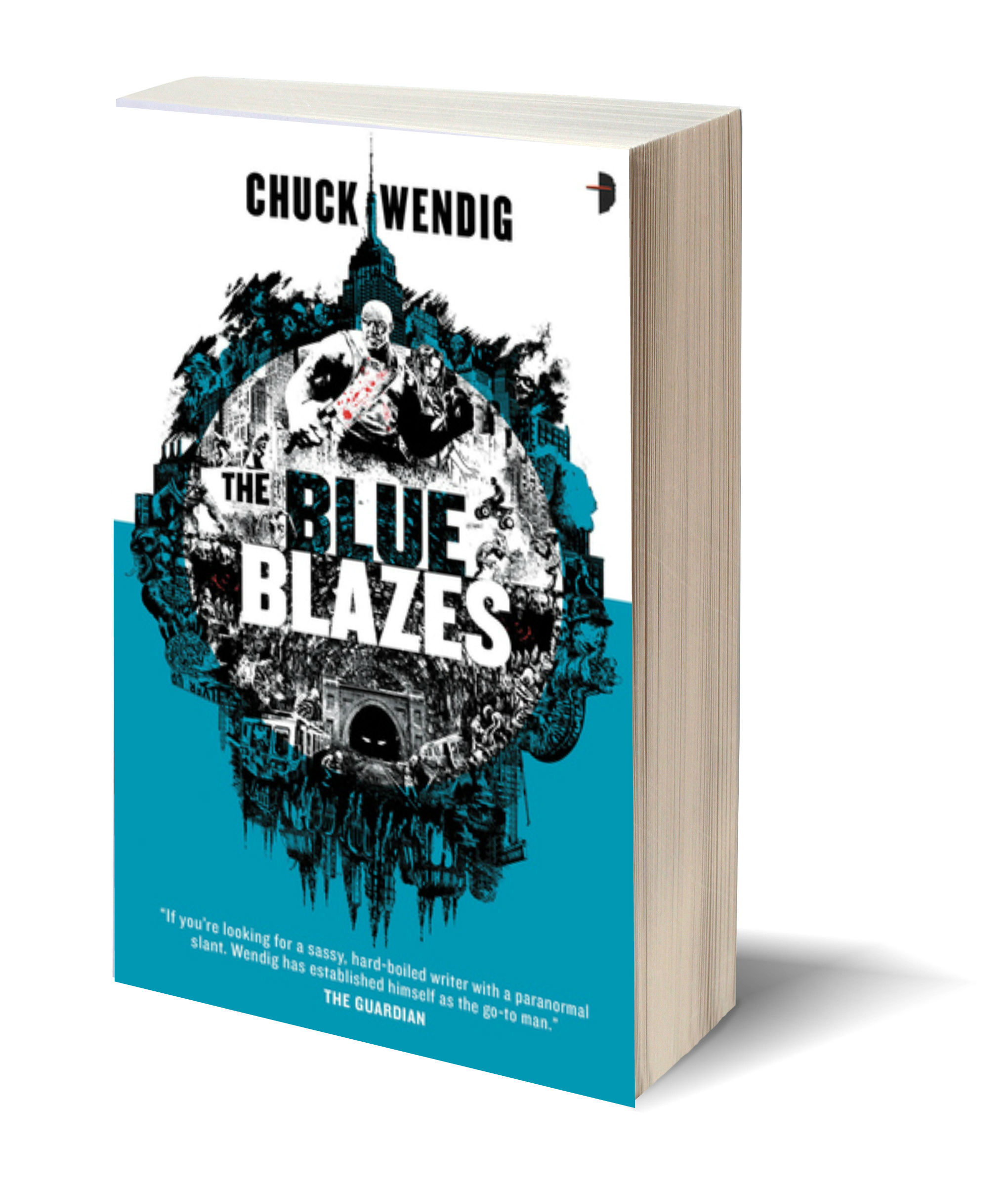 THE BLUE BLAZES by Chuck Wendig – Review & Recipient of My