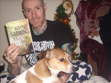 Wayne and dog