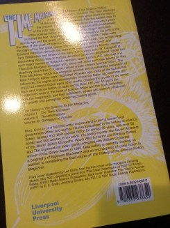back of book