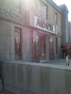 American Horror Story's Hotel set!