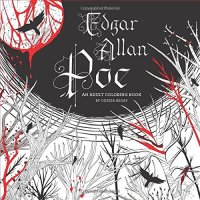 Giveaway! EDGAR ALLAN POE: AN ADULT COLORING BOOK by Odessa Begay