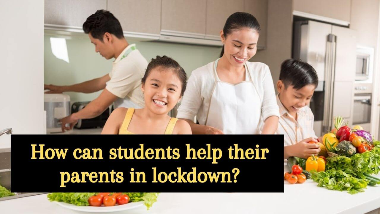 Students are helping their parents