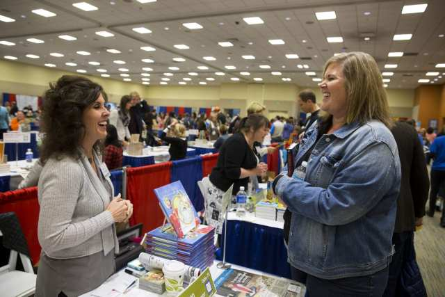 Books on the Banks at Cincinnati Convention Center featuring local and national authors.