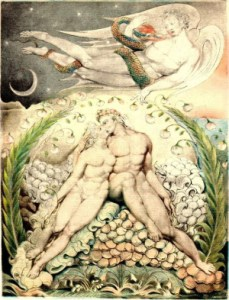 William Blake, Adam & Eve