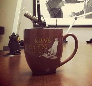 KRVS mug, apres-midi.