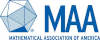 Icosahedron with MAA, Mathematical Association of American
