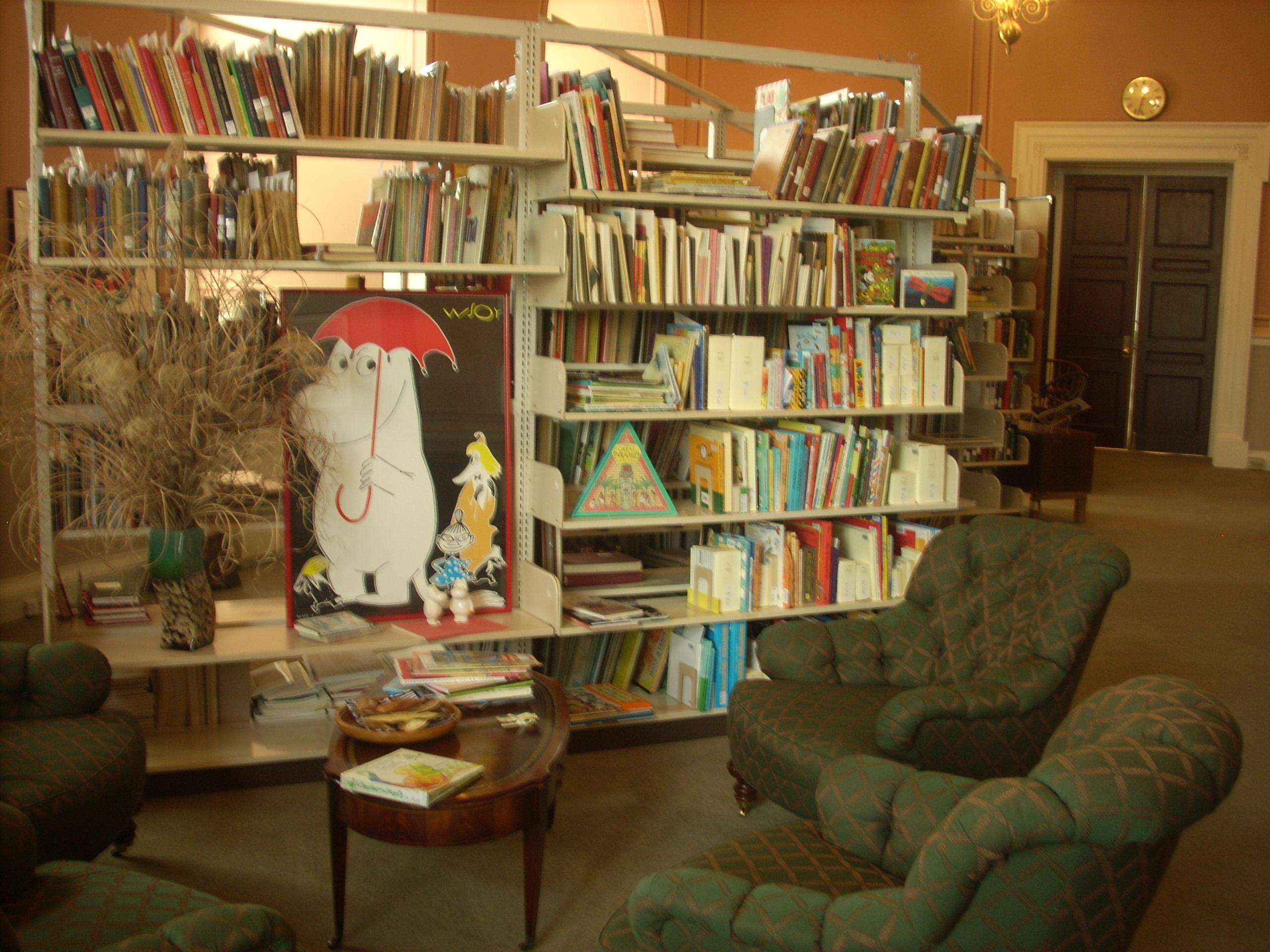 Cozy in the Children's Literature Center