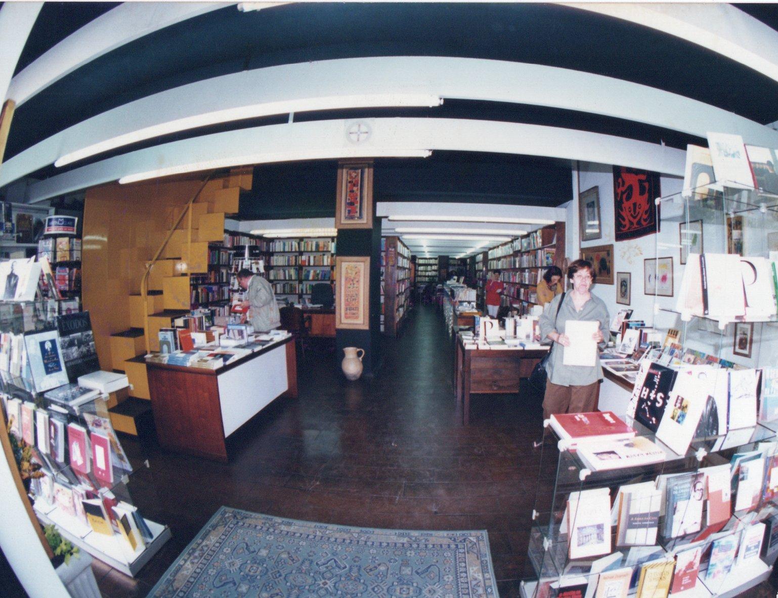 Interior of Livraria Duas Cidades