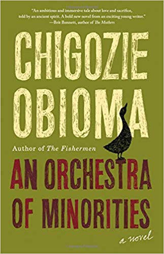 Igbo mythology in Orchestra of Minorities by Chigozie Obioma