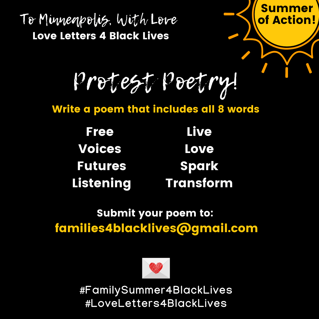 8 word protest poem