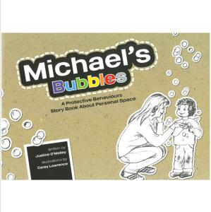 Michael's Bubbles by Justine O'Malley - personal space