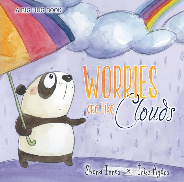 Worries are like clouds cover image