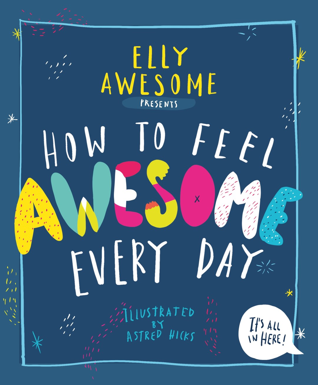 Book Cover Image for How to feel awesome every day