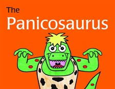 Book Cover Image for The Panicosaurus