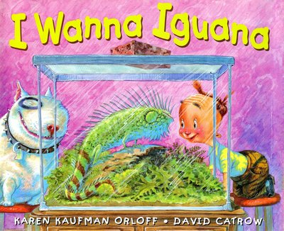 Book Cover Image for I Wanna Iguana