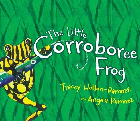 Book Cover Image for The Little Corroboree Frog