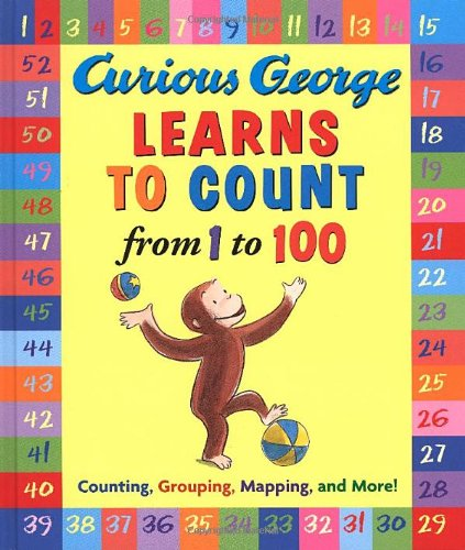 Book Cover Image for Curious George Learns to Count from 1 to 100