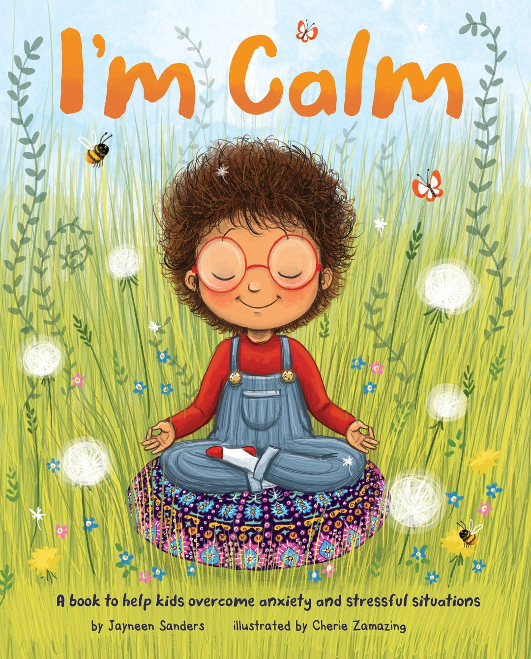 Book Cover Image for I'm Calm