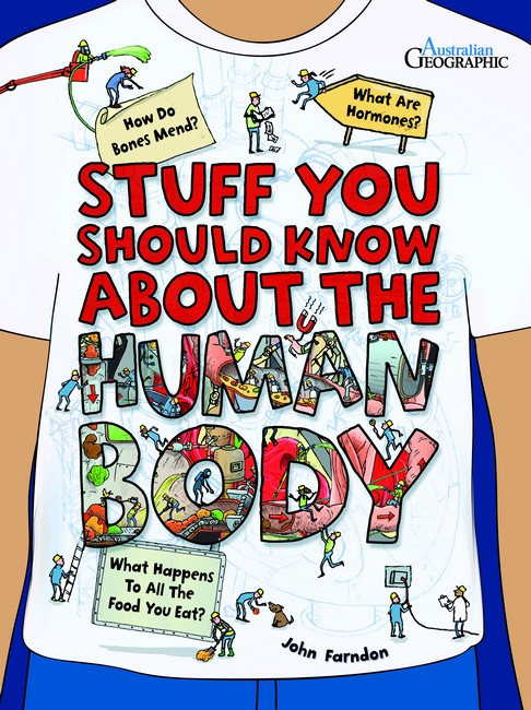 Book Cover Image for Stuff you should know about the human body