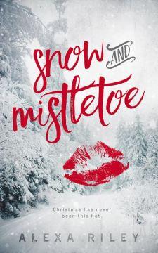 snow and mistletoe cover