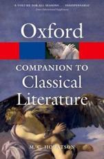 ISBN: 9780199548552 - The Oxford Companion to Classical Literature