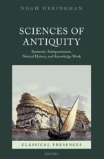 ISBN: 9780199556915 - Sciences of Antiquity